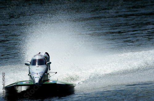 Canvas Prints Water Motor sports inshore