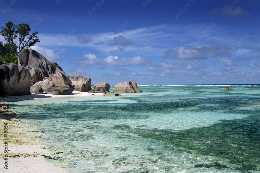 Foto-Doppelrollo - seychelles5