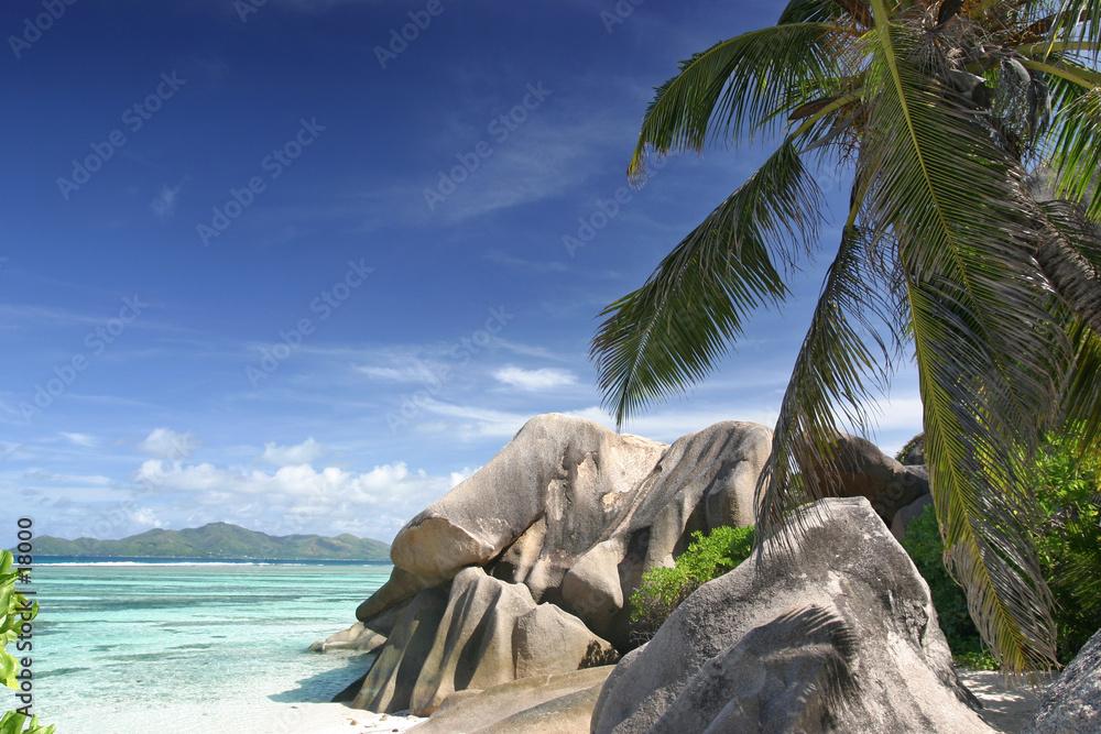 Foto-Doppelrollo - seychelles21