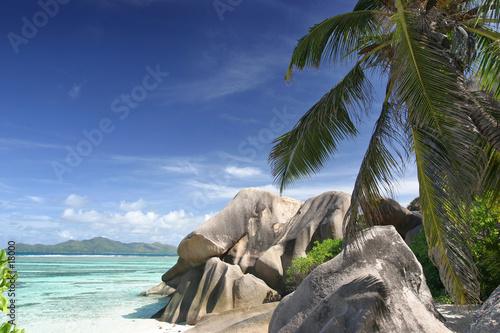 Foto-Leinwand - seychelles21 (von shocky)