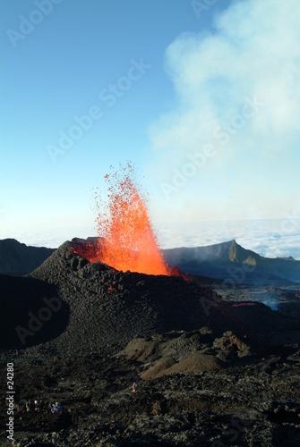 Staande foto Vulkaan volcan 21