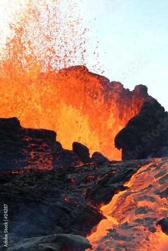 Poster Volcano volcan 15