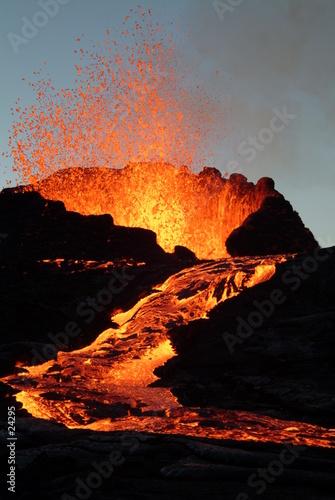 Staande foto Vulkaan volcan1