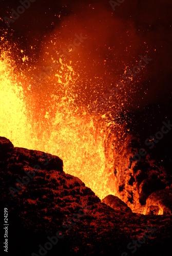 Poster Volcano volcan 10
