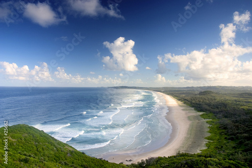 byron bay beach Fototapet