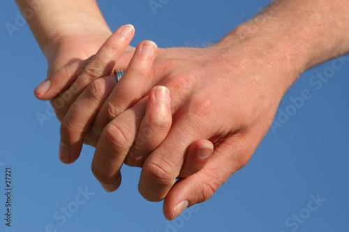 Photo se tenir par la main