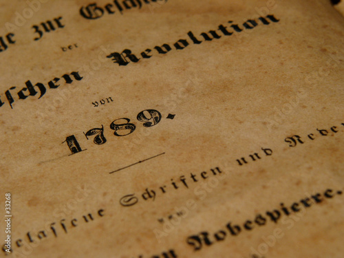 Carta da parati french revolution & robespierre