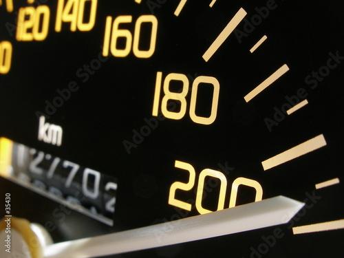 Fotomural vitesse