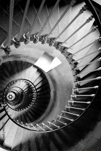 Fotografering  escalier circulaire