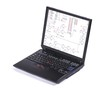 canvas print picture - laptop displaying a circuit diagram