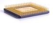 canvas print picture - micro processor