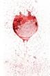 canvas print picture - wine glass