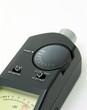 canvas print picture - audio sound meter