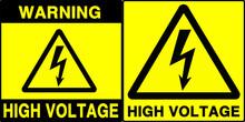 High Voltage Warning Series