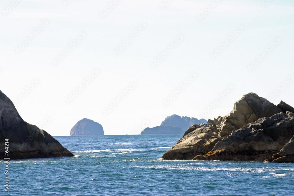 Foto-Doppelrollo - out of bay