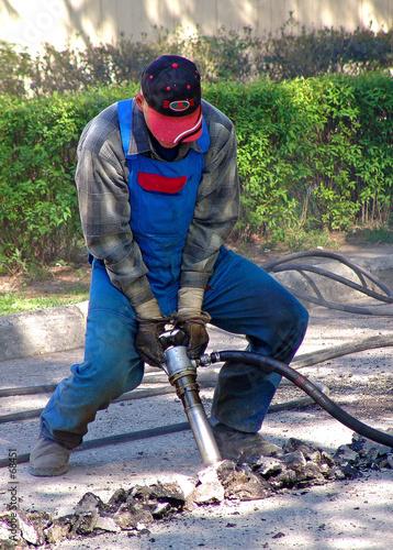 Valokuva  tough job