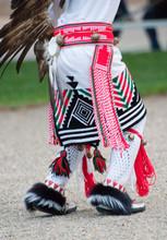 Feet Of Native American Dancer