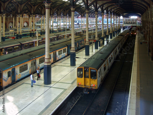 Tableau sur Toile liverpool street station in london