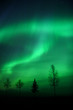 Leinwanddruck Bild - aurora over fairbanks, ak
