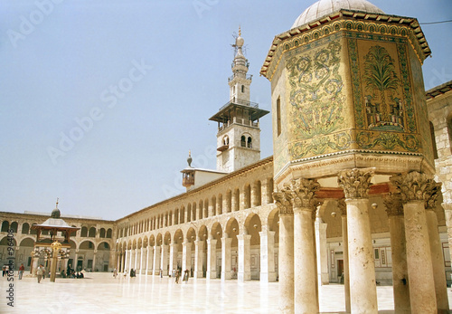 Poster Middle East umayyad mosque