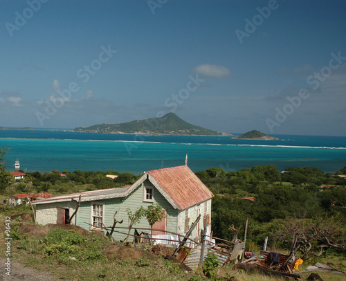 Foto op Aluminium Arctica caribbean house