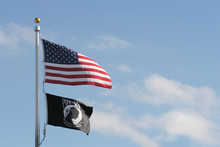 American And Pow Mia Flags