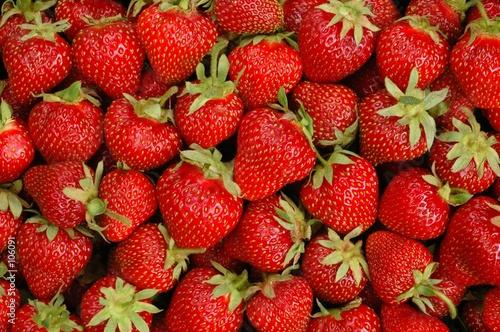 Keuken foto achterwand Vruchten strawberries