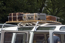 Baggage On The Roof Of A Vincent Van