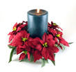 canvas print picture - christmas candle