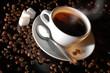 Leinwandbild Motiv coffee