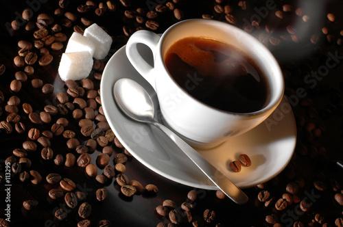 Leinwanddruck Bild - Dušan Zidar : coffee