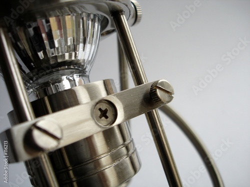 Photo  metallic lamp