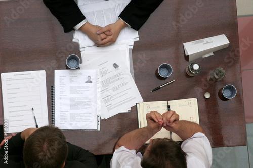 Fotografie, Obraz  business people talk - body language