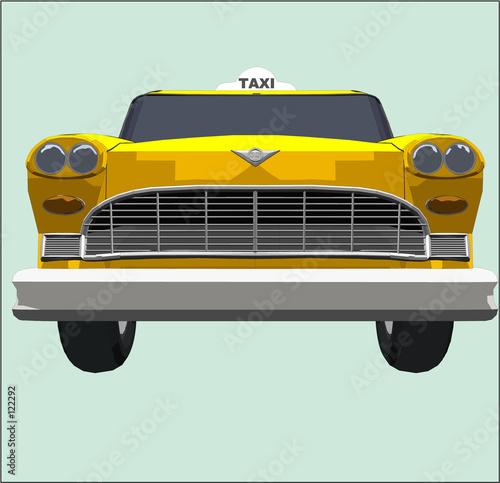 Fotografie, Obraz yellow cab 2
