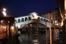 Venice By Night - Rialto Bridge