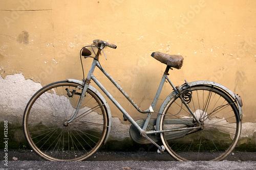 Fotobehang Fiets altes fahrrad