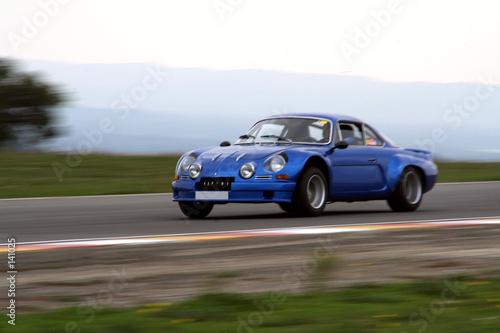 alpine berlinette Fototapete
