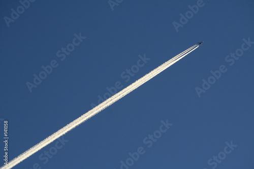 Photo avion dans le ciel