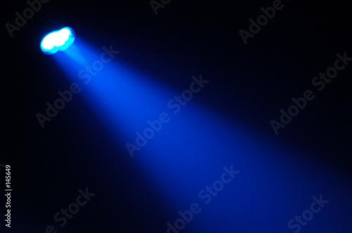Obraz projecteur bleu - fototapety do salonu