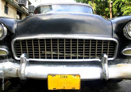 Türaufkleber Autos aus Kuba coche en la habana