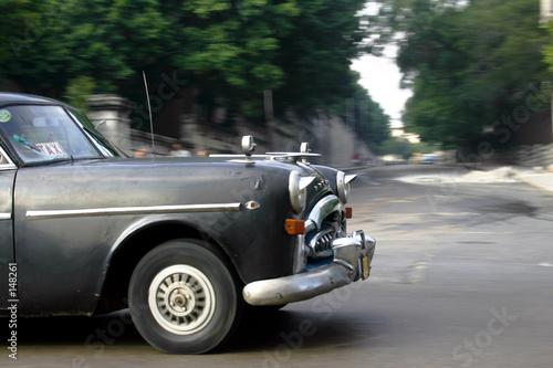 Türaufkleber Autos aus Kuba coche en cuba