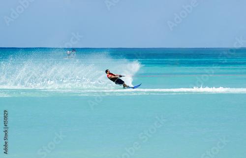 Fotografie, Obraz  waterskiing 3