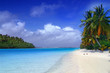 canvas print picture aitutaki dream
