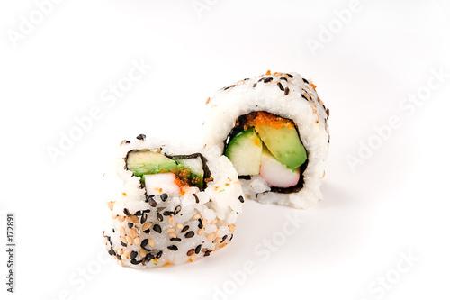 Valokuva  sushi: california rolls