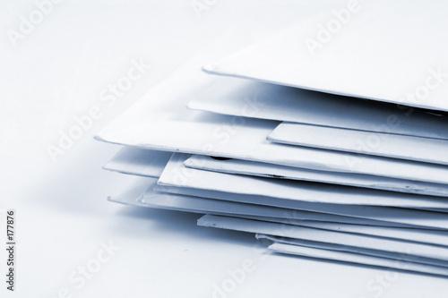 Fotografia, Obraz  stacked mail