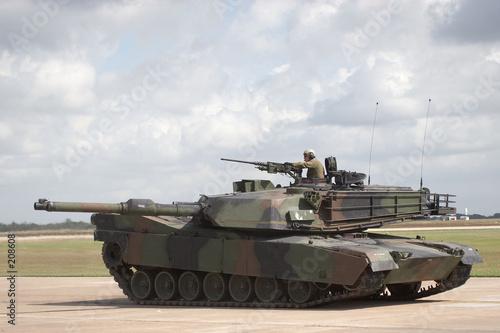 m1/a1 tank Fototapet