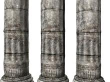 Three Greek Columns