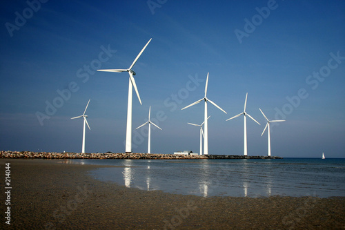 Photo Stands Mills electricity wind mills