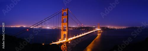 Fotomural golden gate bridge panorama