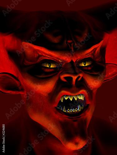 Cuadros en Lienzo demon portrait
